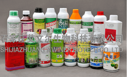 awiner's pesticide packaging